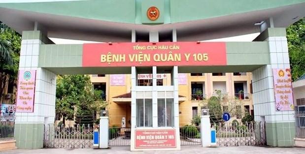 Hanoi: Un medico del hospital militar 105 infectado del COVID-19 hinh anh 1