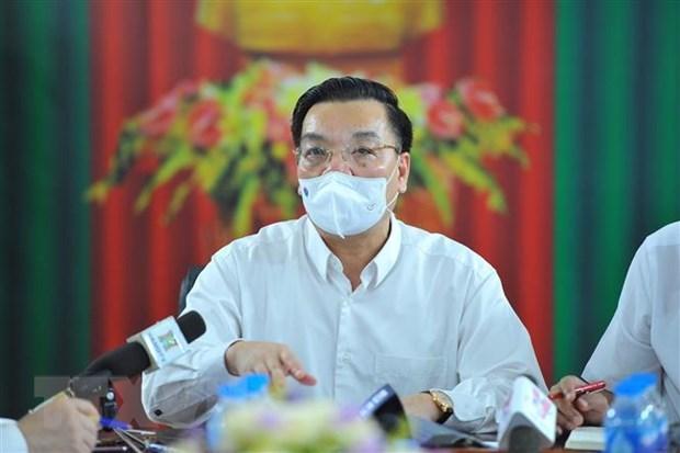 Hanoi despliega medidas drasticas en prevencion y control del COVID-19 hinh anh 1