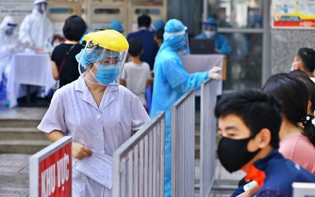 Provincia vietnamita de Bac Ninh registra nueve casos adicionales del COVID-19 hinh anh 1
