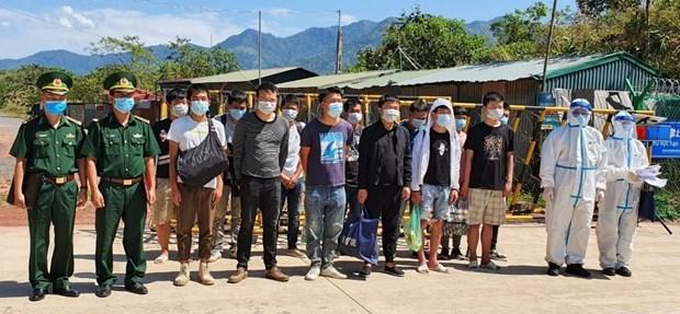 Vietnam intensifica inspeccion y control de entrada ilegal en medio del COVID-19 hinh anh 1