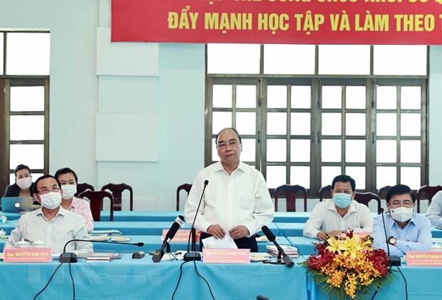 Proponen medidas para impulsar crecimiento de distritos suburbanos de Ciudad Ho Chi Minh hinh anh 1