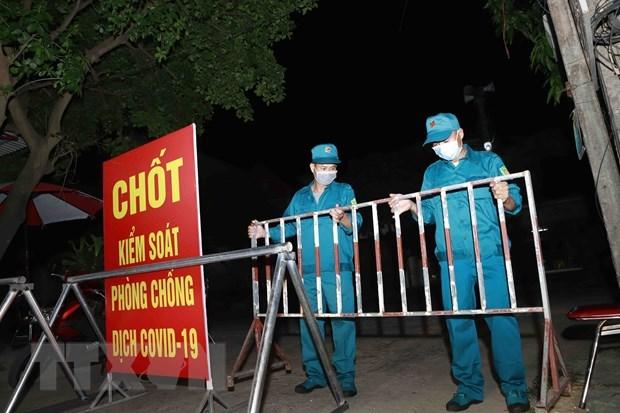 Reporta provincia vietnamita 25 casos locales de COVID-19 hinh anh 1