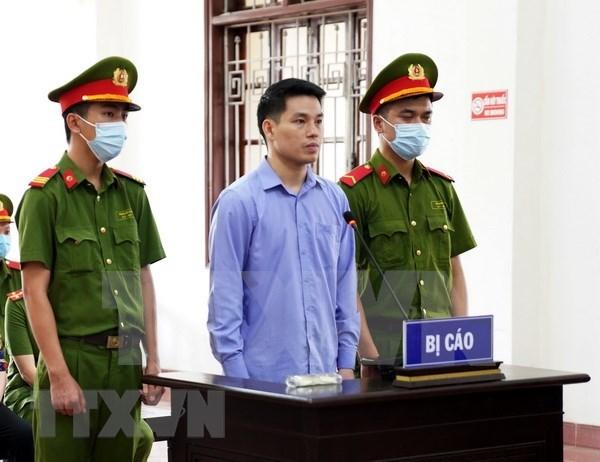 Condenan a ocho anos de carcel en Vietnam a dos individuos por actividades propagandistas contra el Estado hinh anh 1