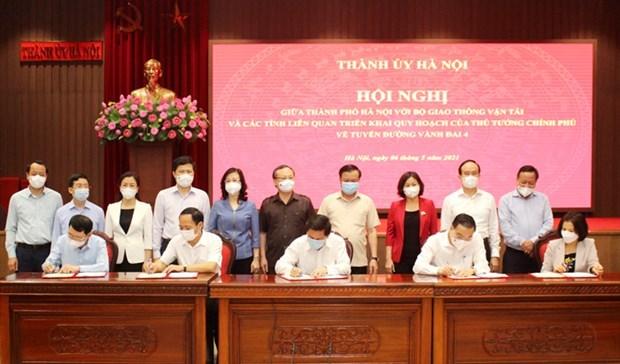 Carretera de circunvalacion 4, clave para la conexion de la Region capitalina de Vietnam hinh anh 1