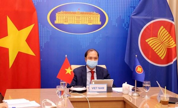 Efectuan Dialogo entre ASEAN y Estados Unidos hinh anh 1