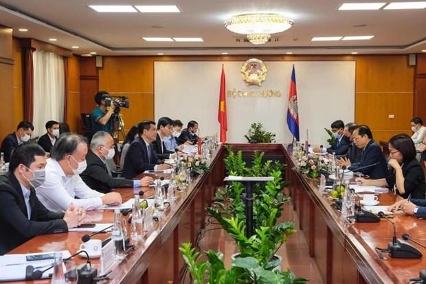 Vietnam y Camboya refuerzan cooperacion en comercio, industria y energia hinh anh 1