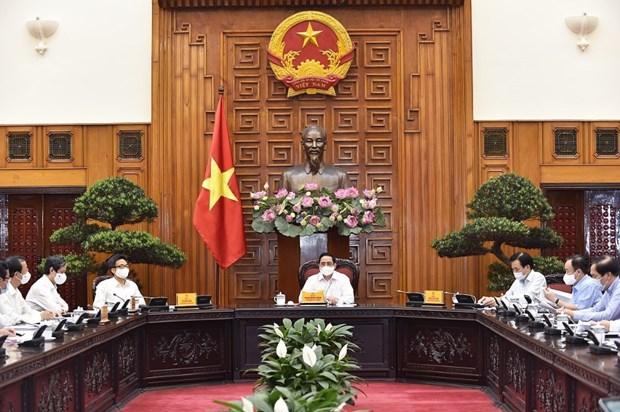 Premier vietnamita destaca importancia de recursos humanos para desarrollo nacional hinh anh 2