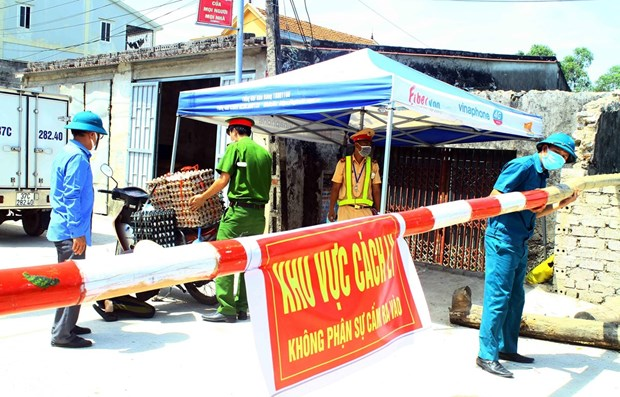 Registra Vietnam 78 casos nuevos de COVID-19 hinh anh 1