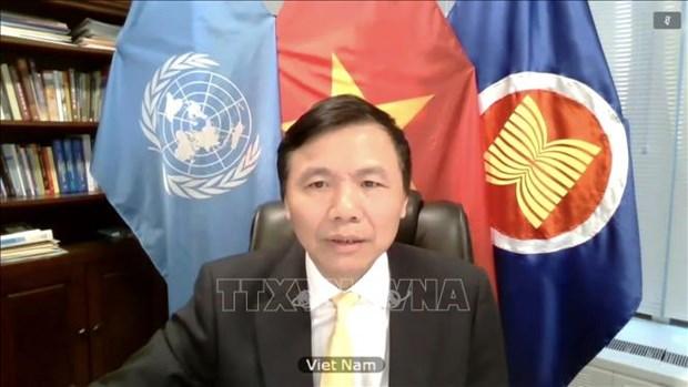 Vietnam exige mayor proteccion infantil en conflictos en medio de pandemia hinh anh 1