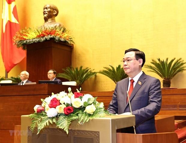 Envian mensajes de felicitacion al presidente del Parlamento de Vietnam hinh anh 1