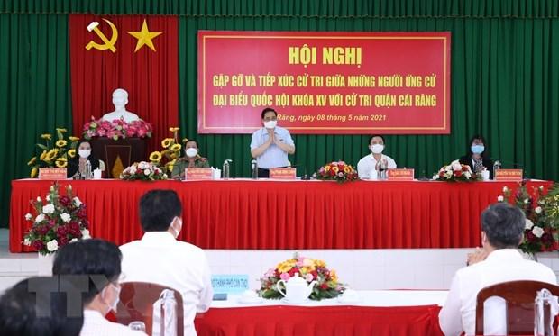Primer ministro de Vietnam da a conocer a votantes su plan de accion hinh anh 2