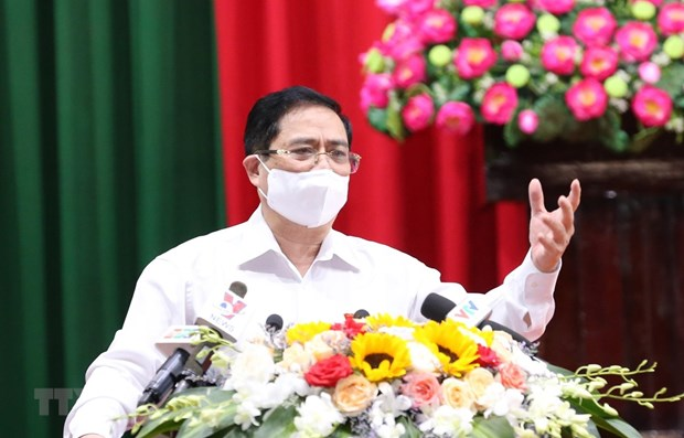 Primer ministro de Vietnam da a conocer a votantes su plan de accion hinh anh 1