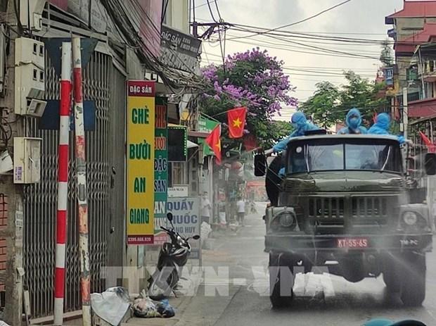 Vietnam registra otros 15 casos positivos del COVID-19 hinh anh 1