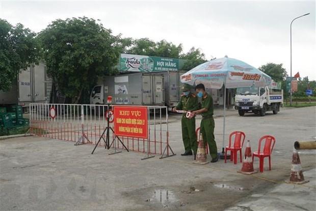 Otras localidades vietnamitas reportan nuevos casos de infeccion del COVID-19 hinh anh 1