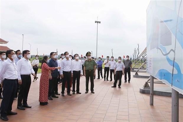 Inician remodelacion de carretera nacional del numero 10 en ciudad vietnamita de Hai Phong hinh anh 2