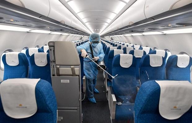 Vietnam Airlines mejora su respuesta al COVID-19 hinh anh 1