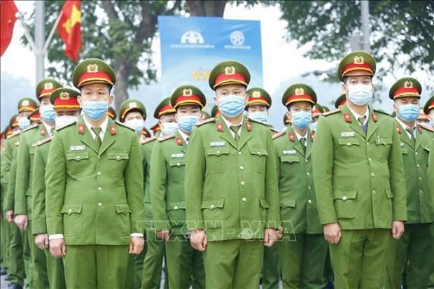 Policia de Vietnam por garantizar seguridad para proximas elecciones hinh anh 1