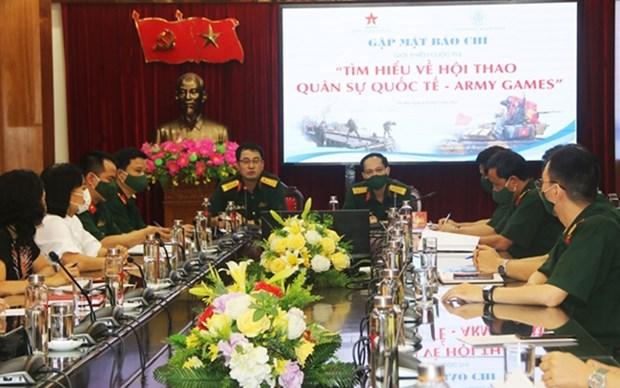 Vietnam lanzara concurso de conocimiento sobre los Army Games hinh anh 1