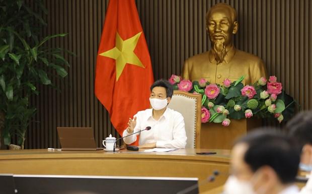 Vicepremier vietnamita exhorta a cumplir seriamente protocolo sanitario contra el COVID-19 hinh anh 2