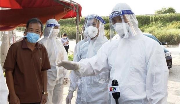 Vietnam reporta otros nuevos 80 casos del COVID-19 hinh anh 1