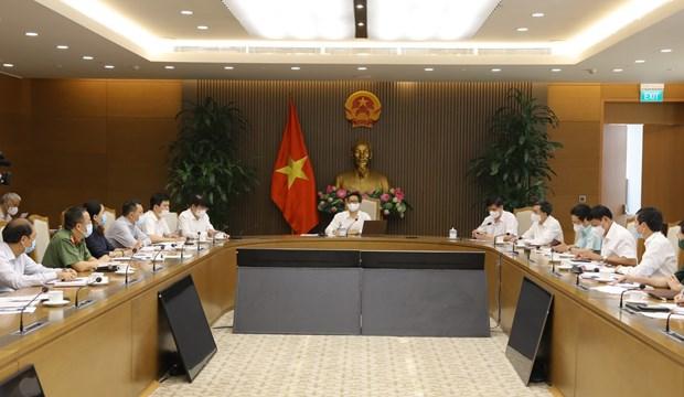 Vicepremier vietnamita exhorta a cumplir seriamente protocolo sanitario contra el COVID-19 hinh anh 1