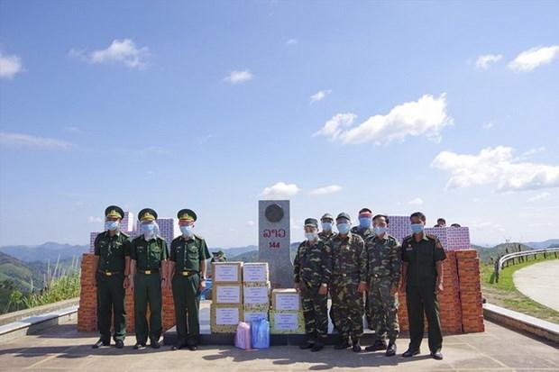 Provincia vietnamita une esfuerzos para ayudar a amigos laosianos en medio del COVID-19 hinh anh 1