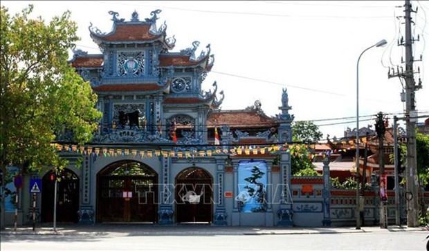 Sangha Budista de Vietnam pide suspender actividades religiosas en localidades afectadas por COVID-19 hinh anh 1