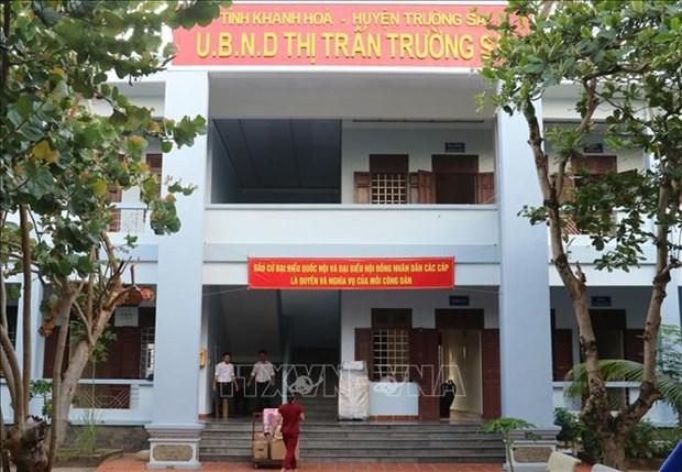 Ciudadanos en archipielago vietnamita de Truong Sa listos para las elecciones hinh anh 1