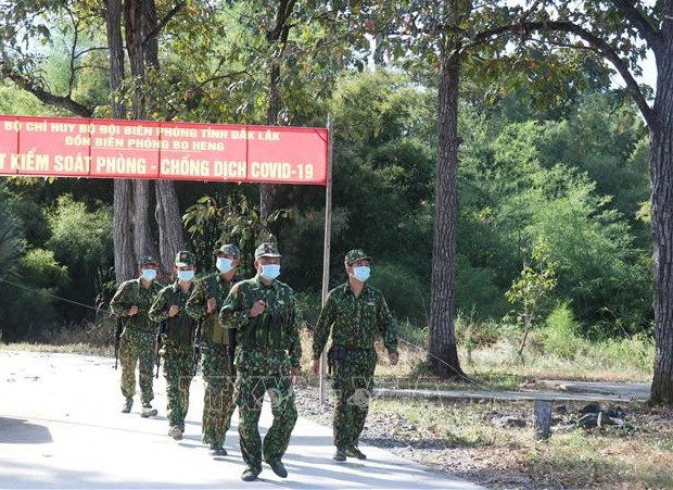 Ejercito de Vietnam fortalece lucha antiepidemica frente al COVID-19 hinh anh 1