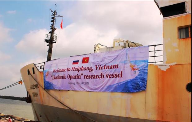 Vietnam y Rusia realizan expedicion cientifica conjunta en Mar del Este hinh anh 1