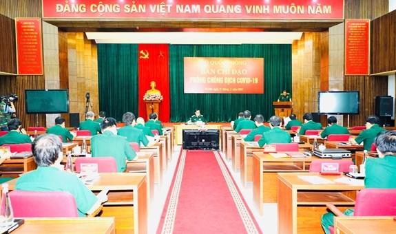 Ejercito de Vietnam fortalece lucha antiepidemica frente al COVID-19 hinh anh 3