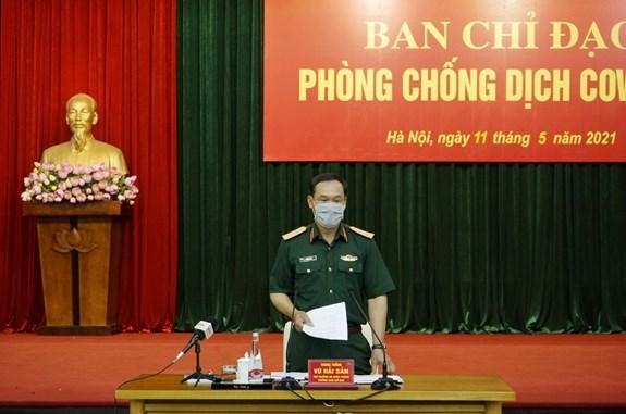 Ejercito de Vietnam fortalece lucha antiepidemica frente al COVID-19 hinh anh 2