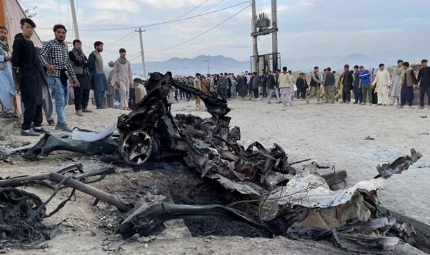Canciller de Vietnam expresa pesame a Afganistan por atentado terrorista hinh anh 1