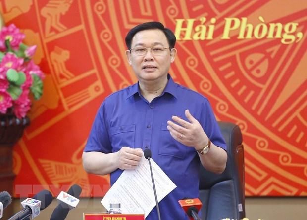 Presidente del Parlamento de Vietnam traza orientaciones para avance de Hai Phong hinh anh 1