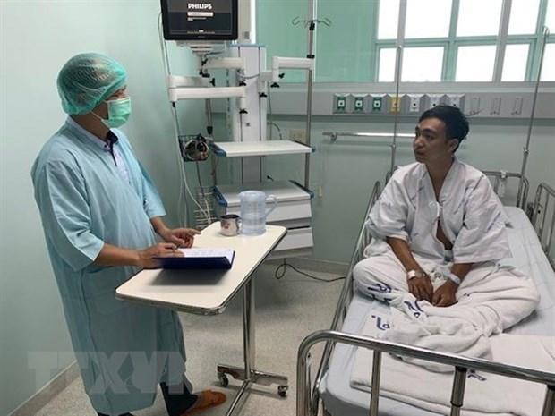 Apoya Embajada de Vietnam en Tailandia a pescadores coterraneos naufragiados hinh anh 1