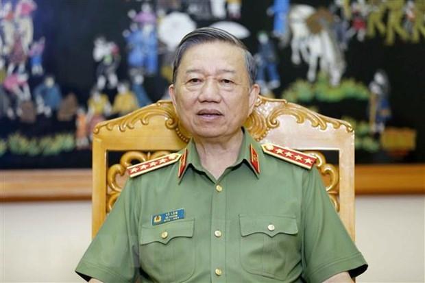 Reiteran maxima prioridad a garantia de seguridad para elecciones en Vietnam hinh anh 1