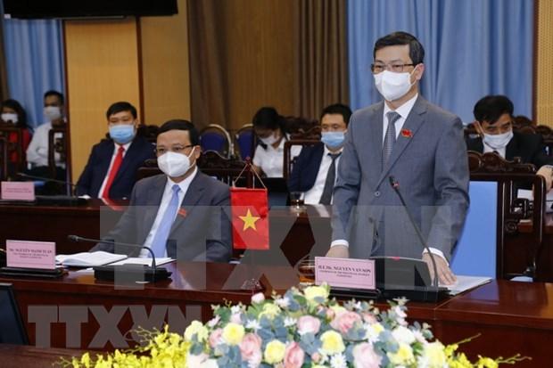 Promueve provincia vietnamita de Tuyen Quang cooperacion con socios surcoreanos hinh anh 1