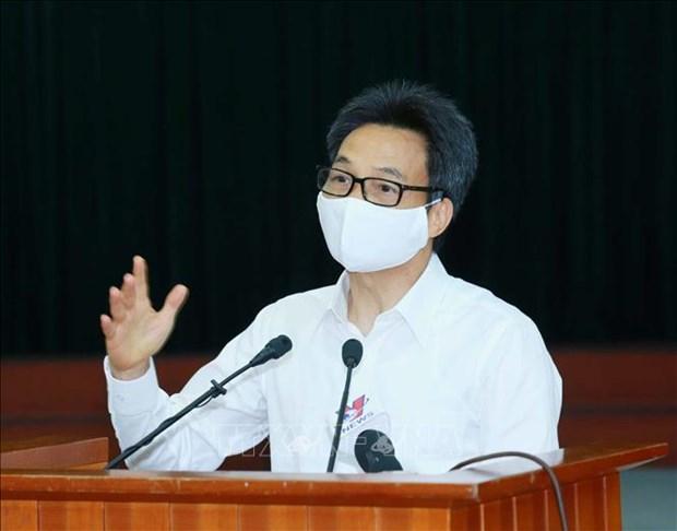 Exhortan a implementar estrictamente medidas contra COVID-19 en Vietnam hinh anh 2