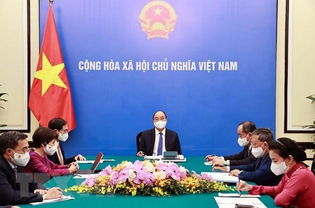 Buscan agilizar lazos entre Vietnam y Francia hinh anh 1