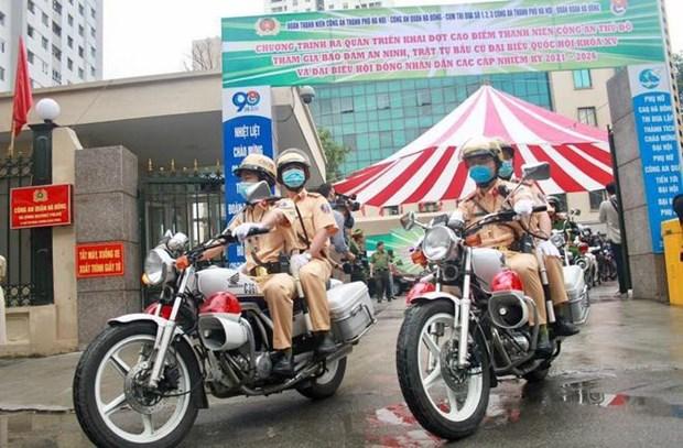 Exhortan a garantizar seguridad absoluta para las proximas elecciones en Vietnam hinh anh 1