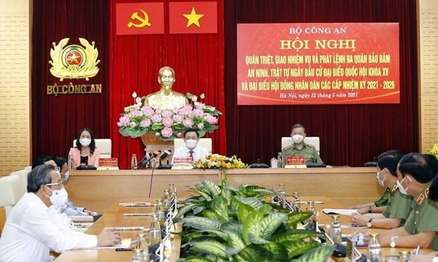 Exhortan a garantizar seguridad absoluta para las proximas elecciones en Vietnam hinh anh 2