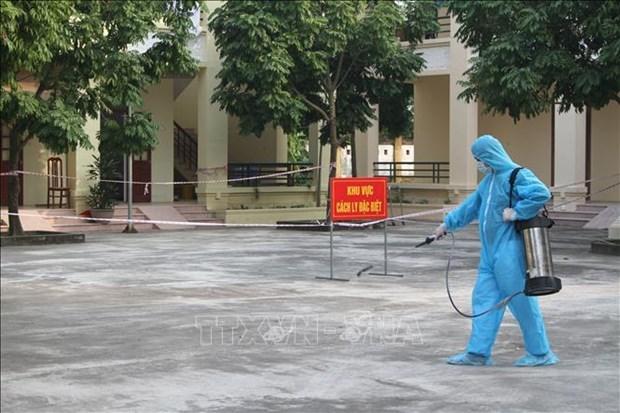 Vietnam reporta 34 nuevos casos del COVID-19 hinh anh 1