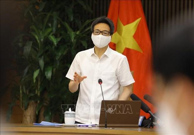 Exigen evitar propagacion de COVID-19 en zonas industriales de Vietnam hinh anh 1