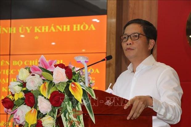 Provincia vietnamita de Khanh Hoa debe desarrollar economia maritima solida, segun funcionario partidista hinh anh 1