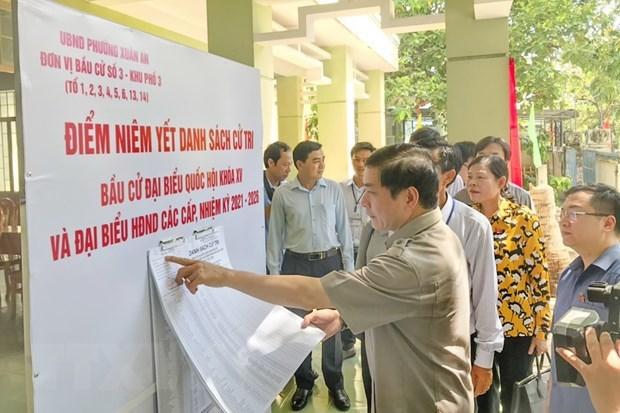 Localidades vietnamitas estan listas para las elecciones legislativas hinh anh 2