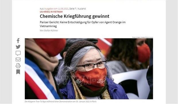 Prensa alemana: Sin tregua, lucha por justicia para las victimas vietnamitas de la dioxina hinh anh 1