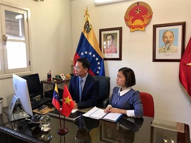 Impulsan lazos comerciales entre Vietnam y Venezuela hinh anh 1