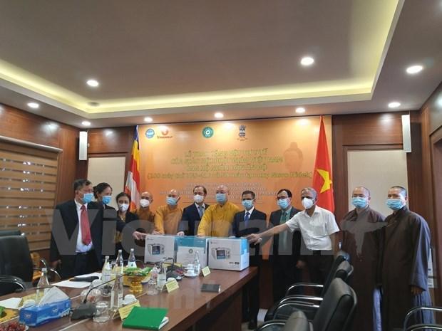 Vietnam brinda suministros medicos a la India en combate contra el COVID-19 hinh anh 1