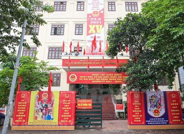 Localidades vietnamitas estan listas para las elecciones legislativas hinh anh 1