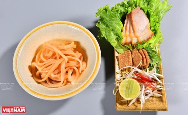 Cao lau, orgullo de la cocina de Hoi An hinh anh 1